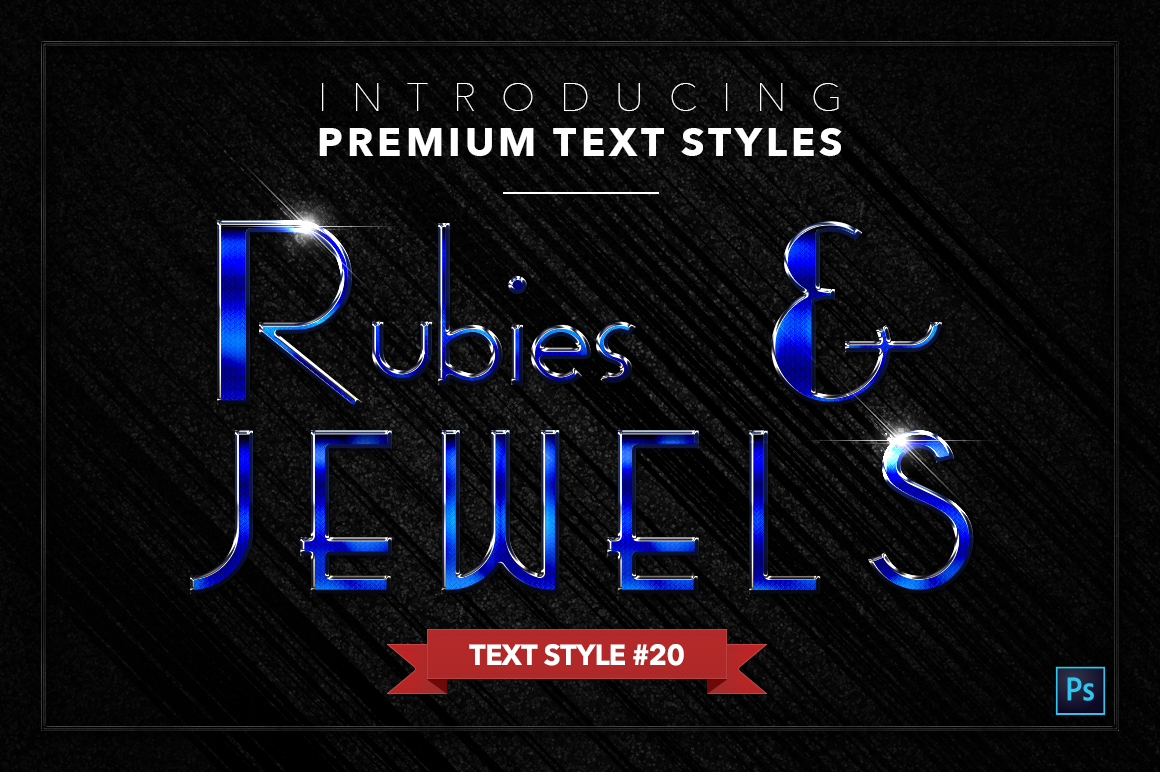 Rubies & Jewels #1 - 20 Text Styles example image 21