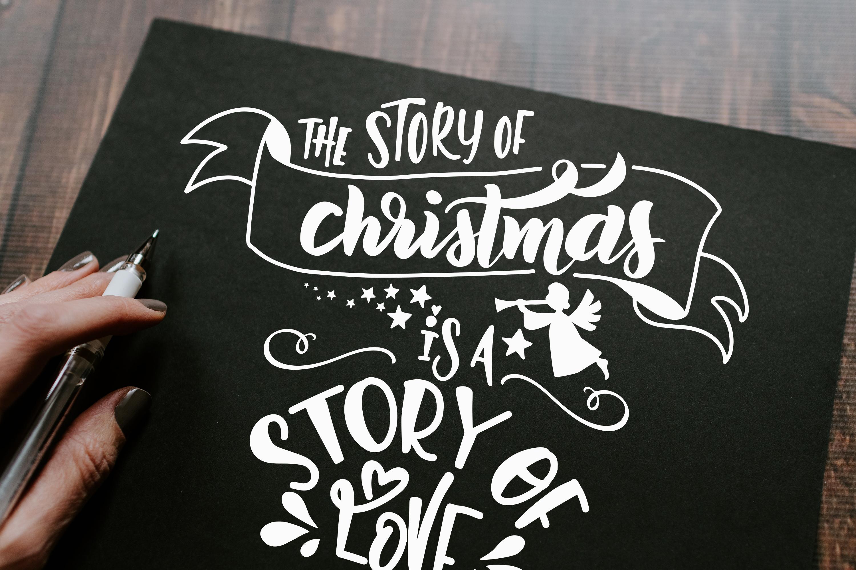 Christmas svg BUNDLE BIG set of 80 quotes example image 11