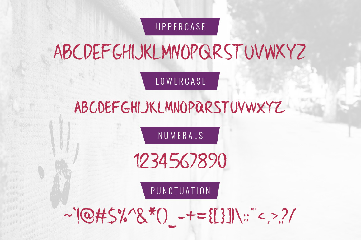 BrownCrow Typeface example image 8