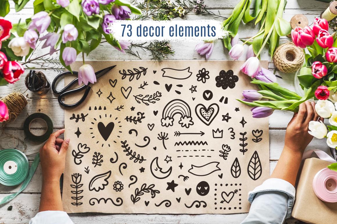 30 Valentine's Day Overlays! example image 4