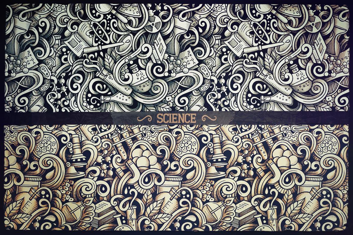 -50 SALE/ Big Doodle Patterns Bundle #2 example image 16