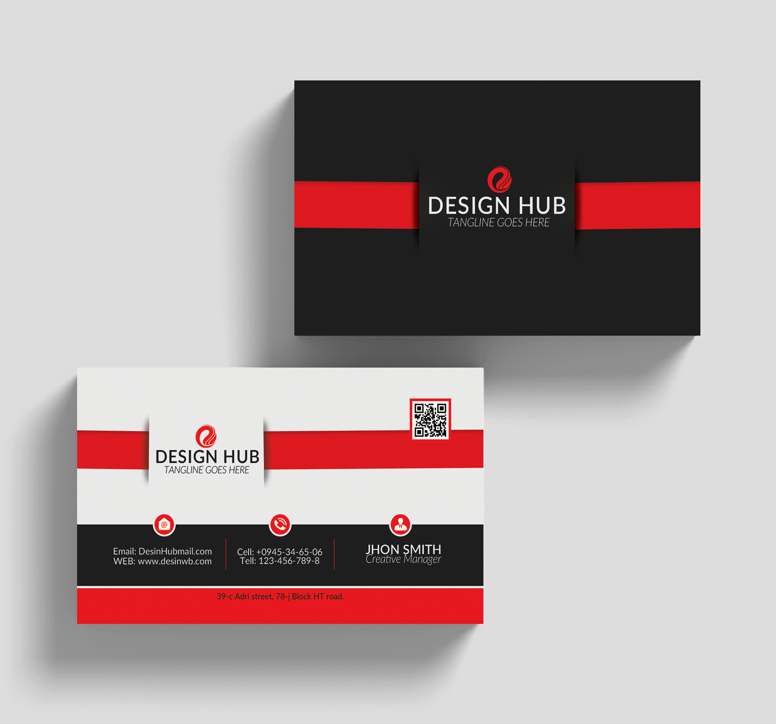 Clean Business Card Psd example image 3
