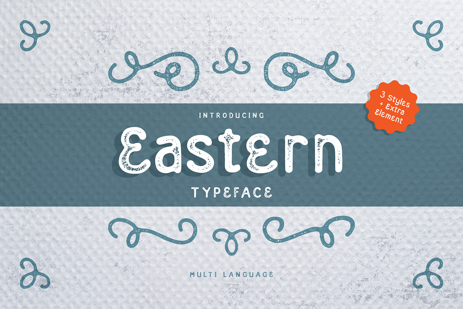 Eastern Typeface example image 1