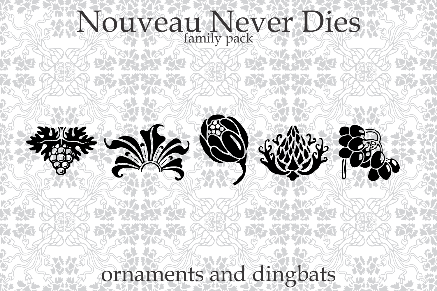 Nouveau Never Dies Family example image 7