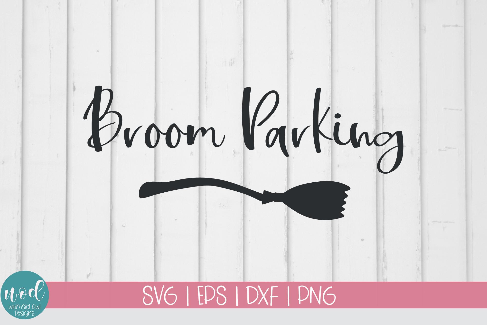 Broom Parking SVG File example image 1