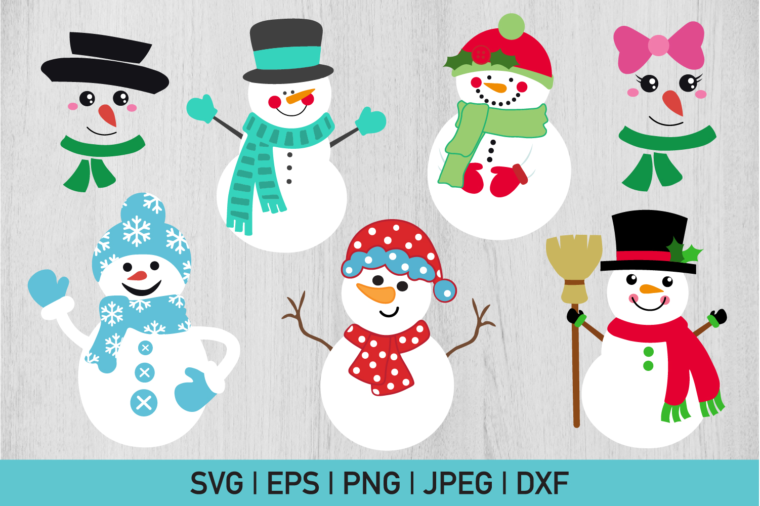 Snowman Bundle example image 1