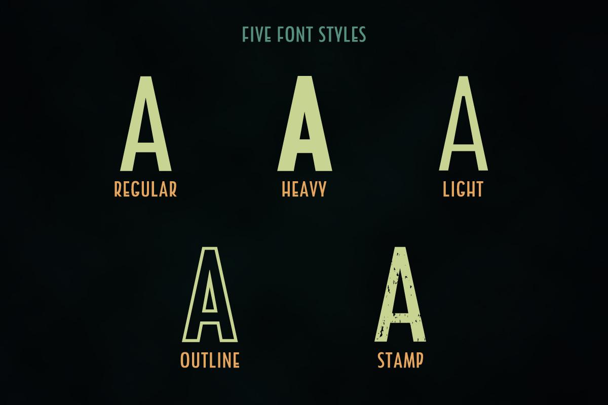 Holder Sans Font Family example image 3