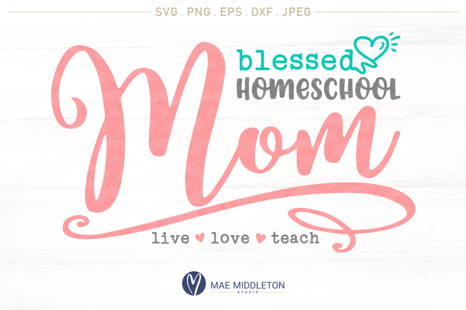 Blessed Homeschool Mom example image 1
