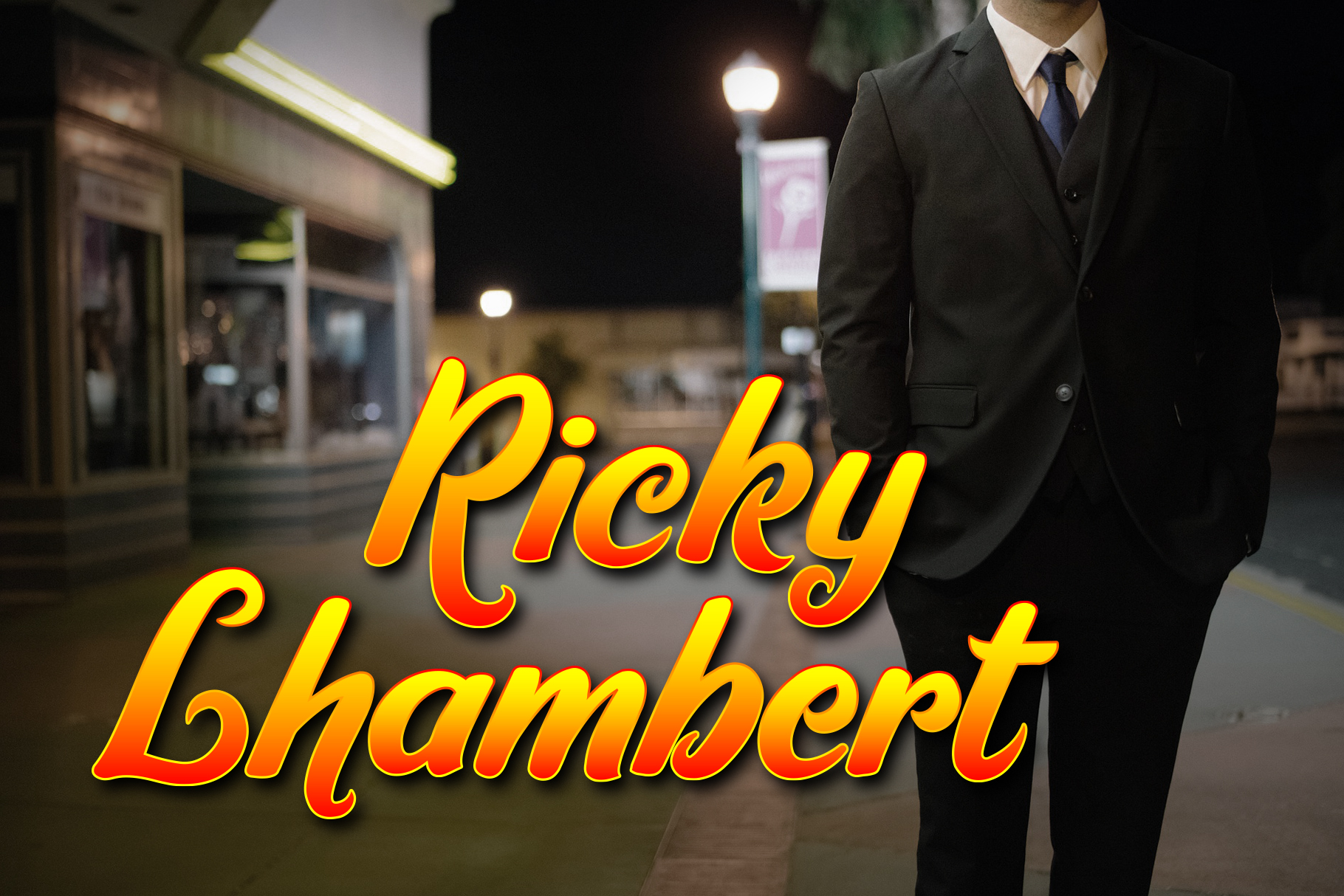 Ricky Lhambert Font example image 1