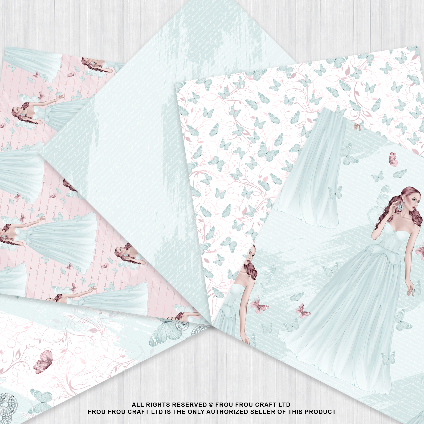 Fairy Tale Princess Butterfly Paper Pack example image 3