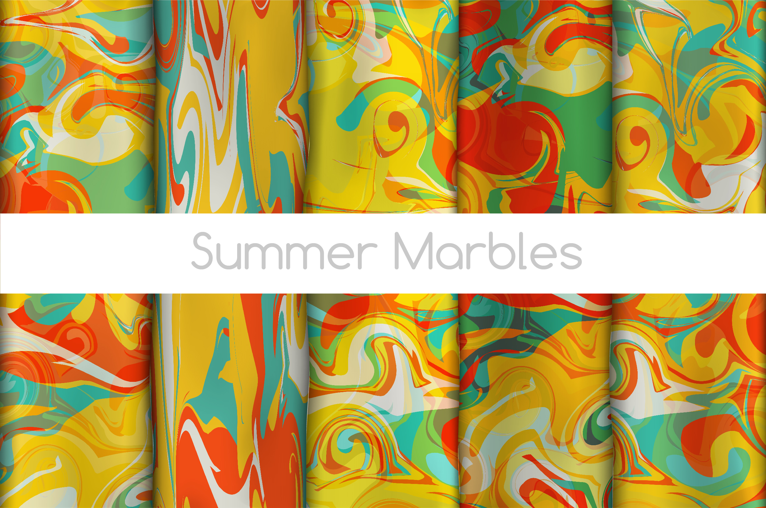 The BIGGEST Marbled Paper Collection example image 10