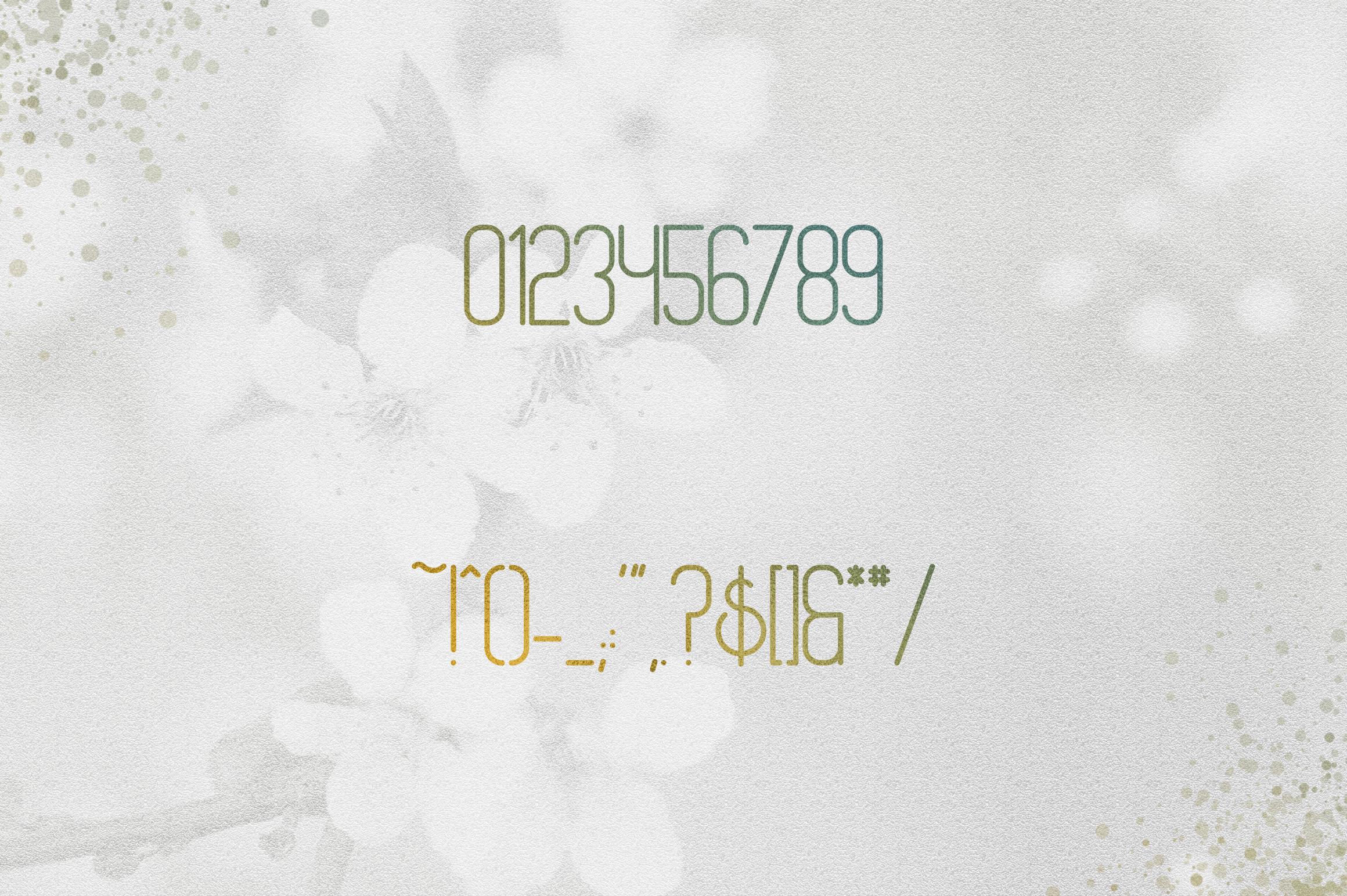 [Spring Vibes] Splendor Font example image 9