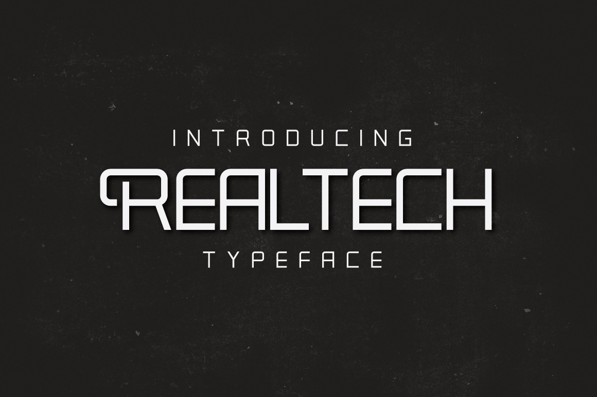 Real Tech Typeface example image 1