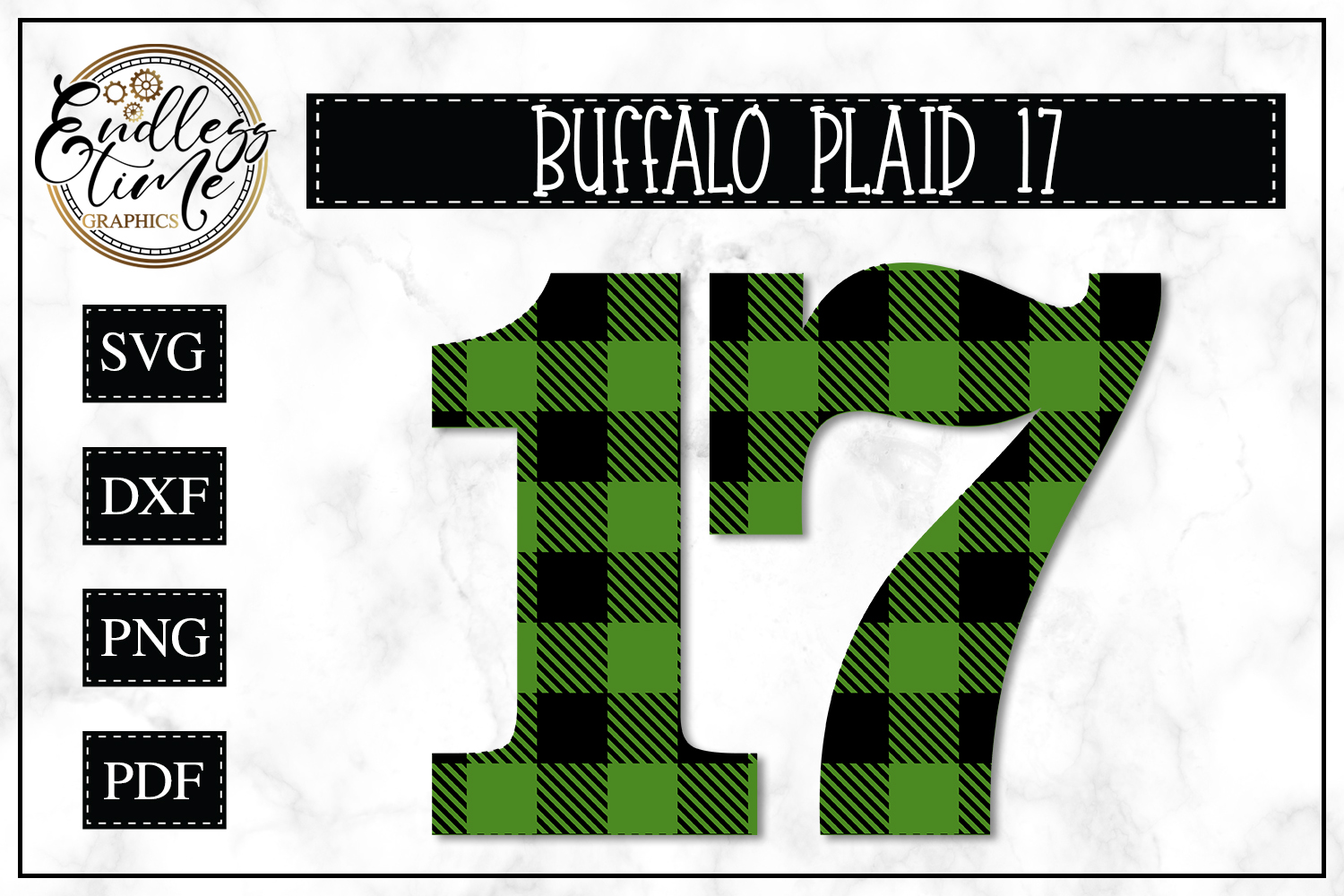 Buffalo Plaid 17 - A St. Patrick's Day SVG example image 1