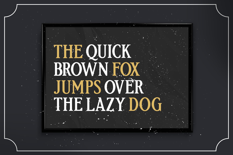 Etherion - Vintage Display font example image 6