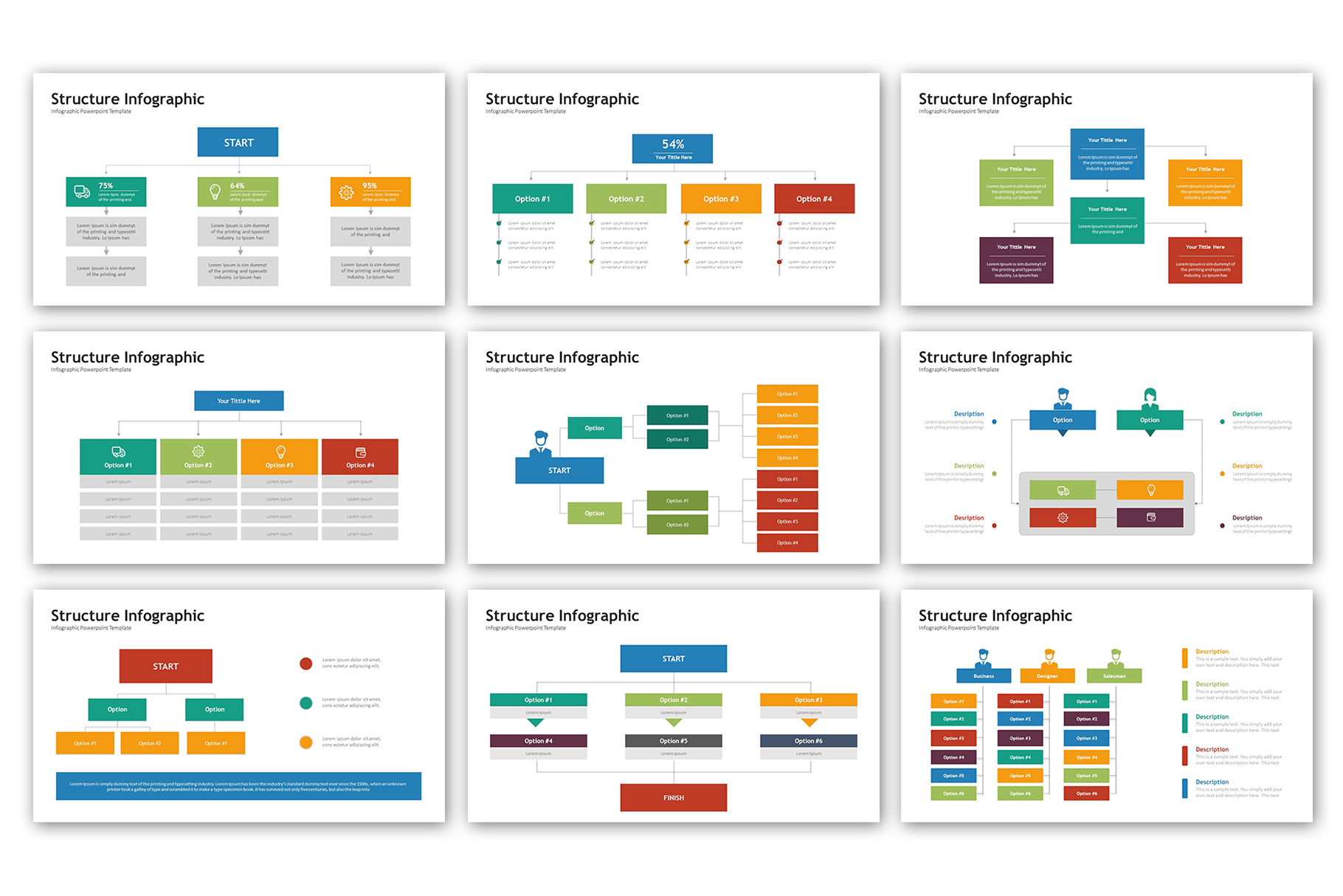 Structure Presentation - Infographic Template example image 4