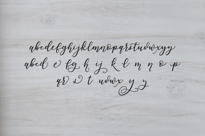 Smudge Script Font example image 2