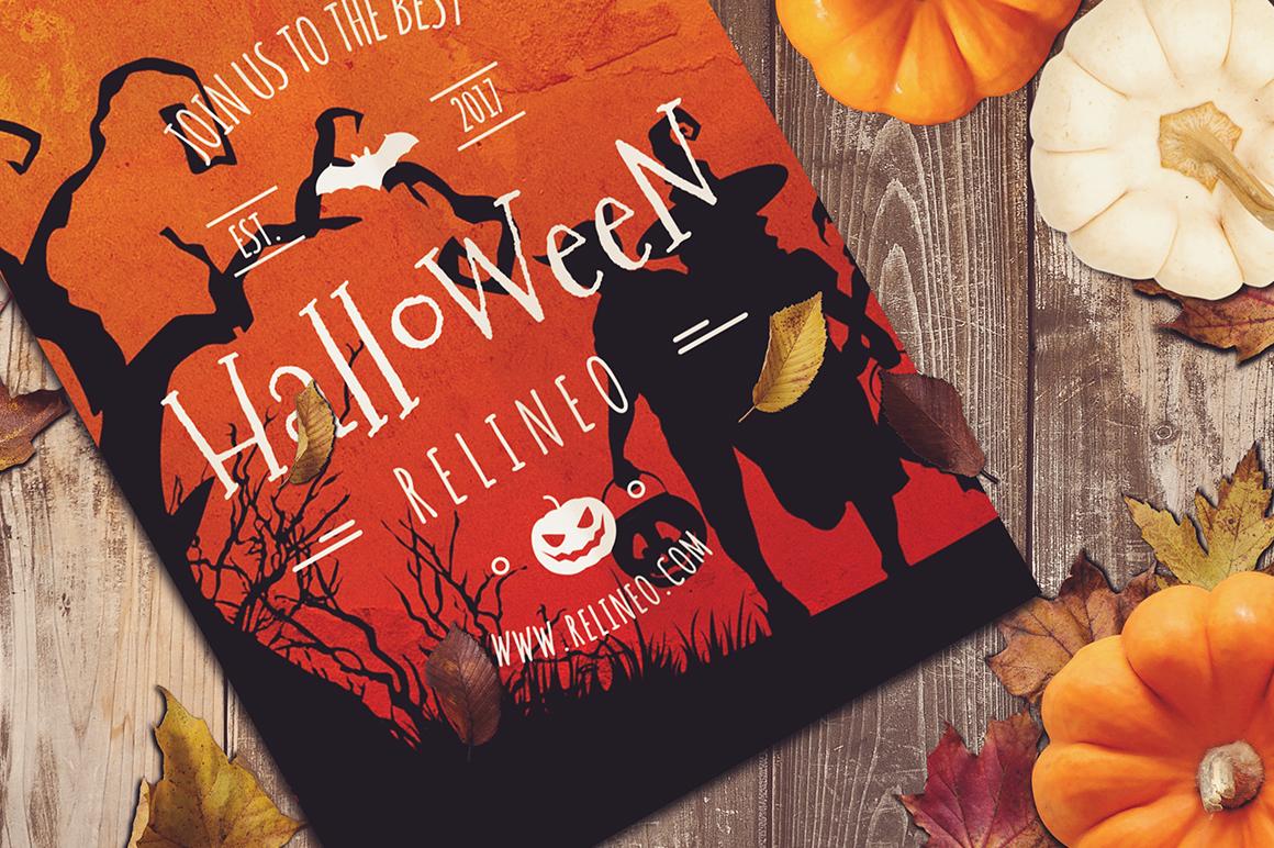 Halloween Mock-up #20 example image 1