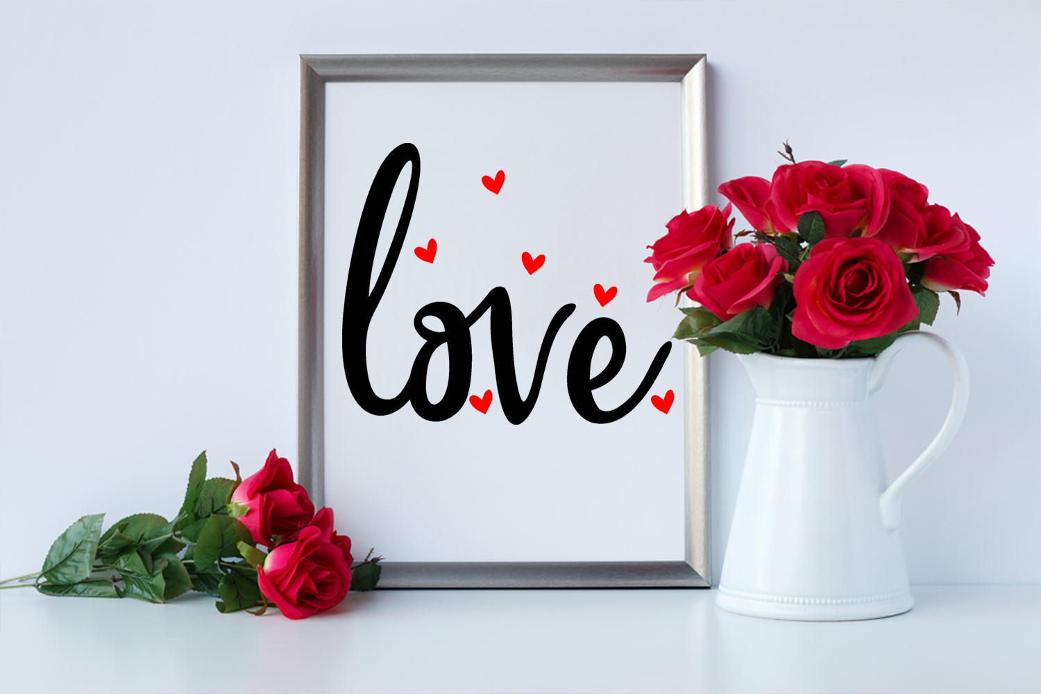 Cute Valentines Overlays-Valentines Day Overlay Collection example image 3
