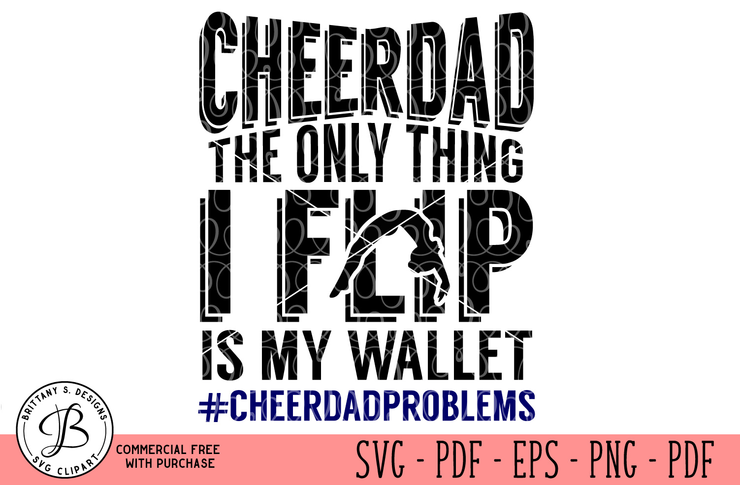 Cheer Dad SVG  example image 1
