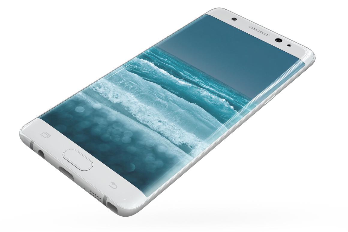 Samsung Galaxy Note 7 Gravity Mockup example image 17