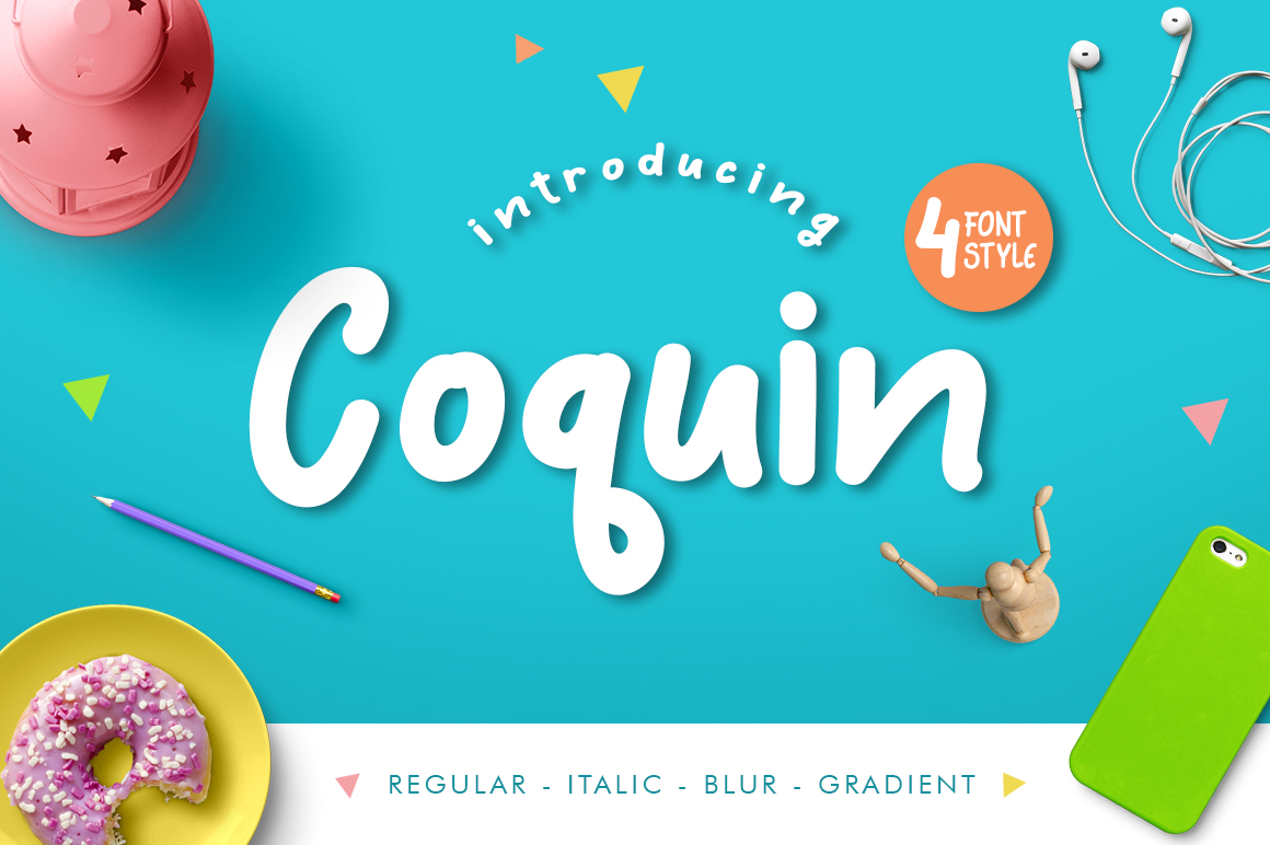 Coquin Typeface example image 1