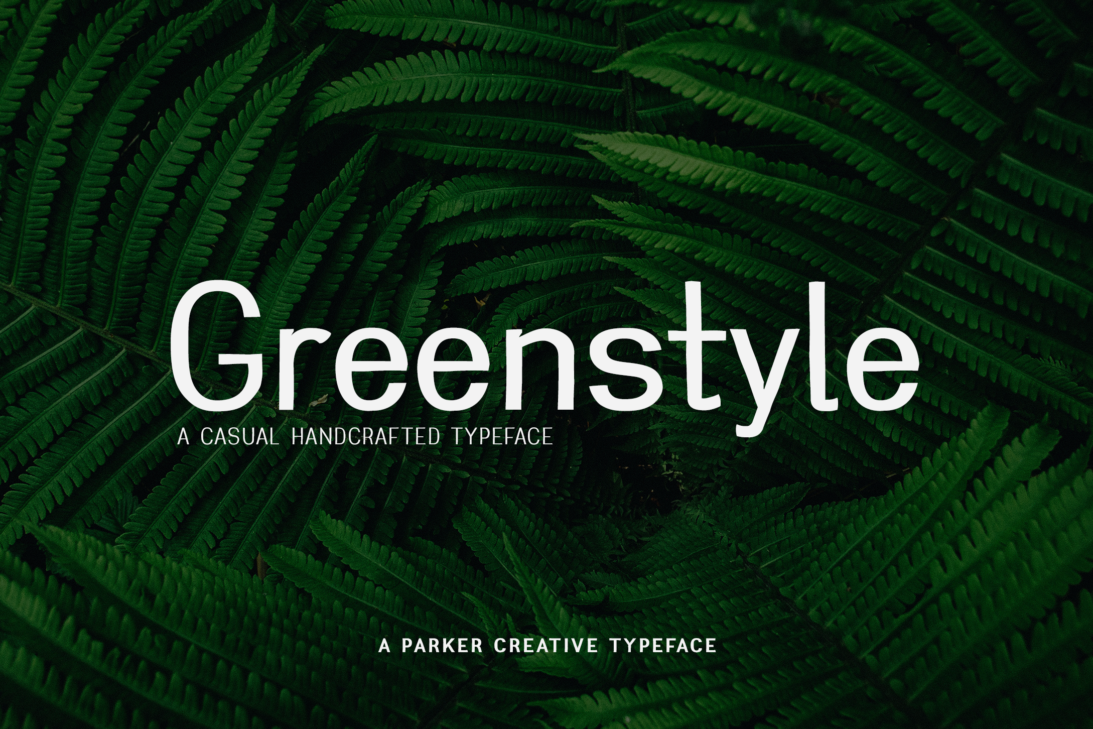 Greenstyle Casual Handcrafted Font example image 1