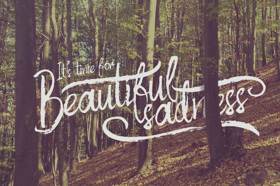 Autumn Feel font example image 2
