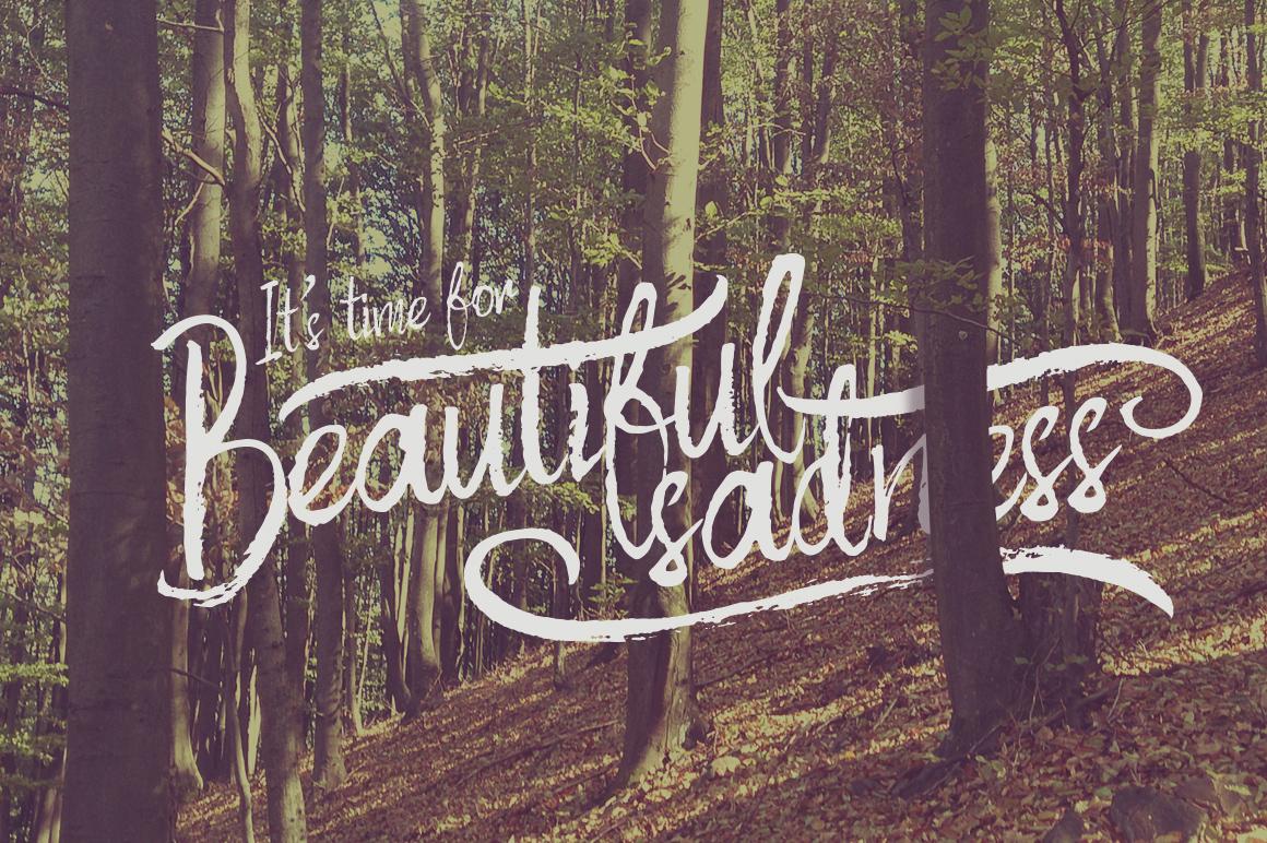 Autumn Feel font example image 2