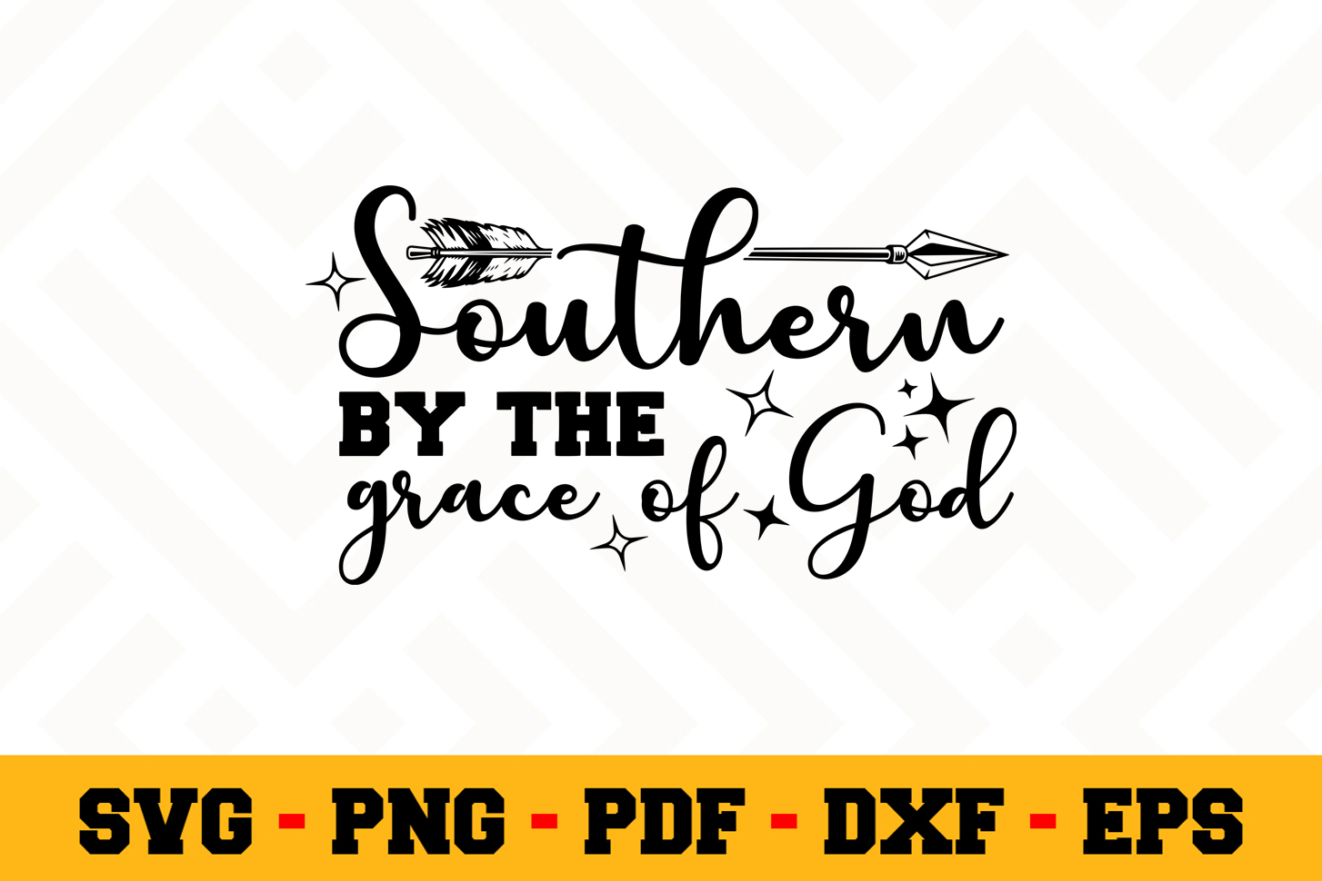 Southern SVG Design n657   Southern SVG Cut File example image 1
