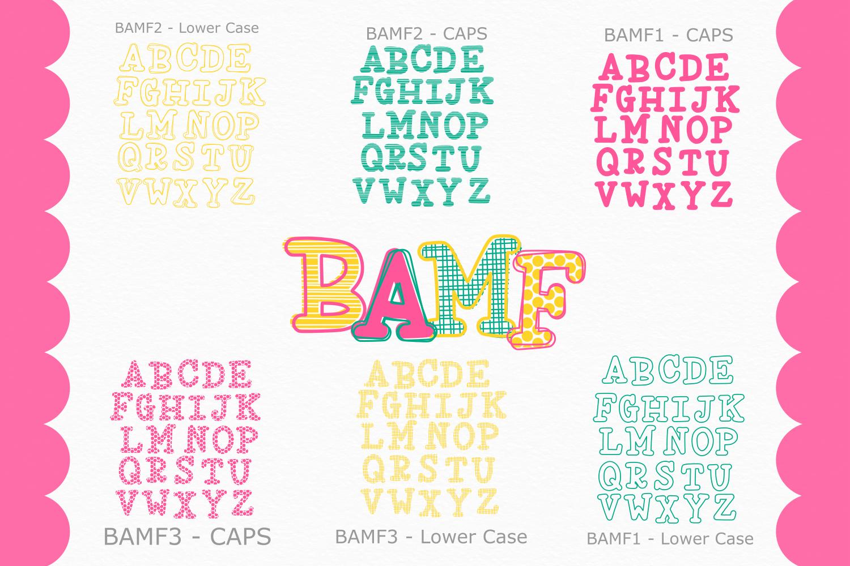 BAMF - A Crazy Font! example image 5