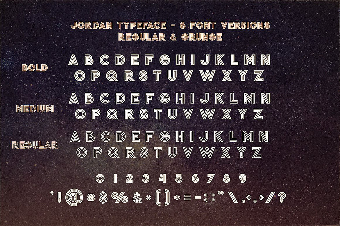Jordan - Display Font example image 5