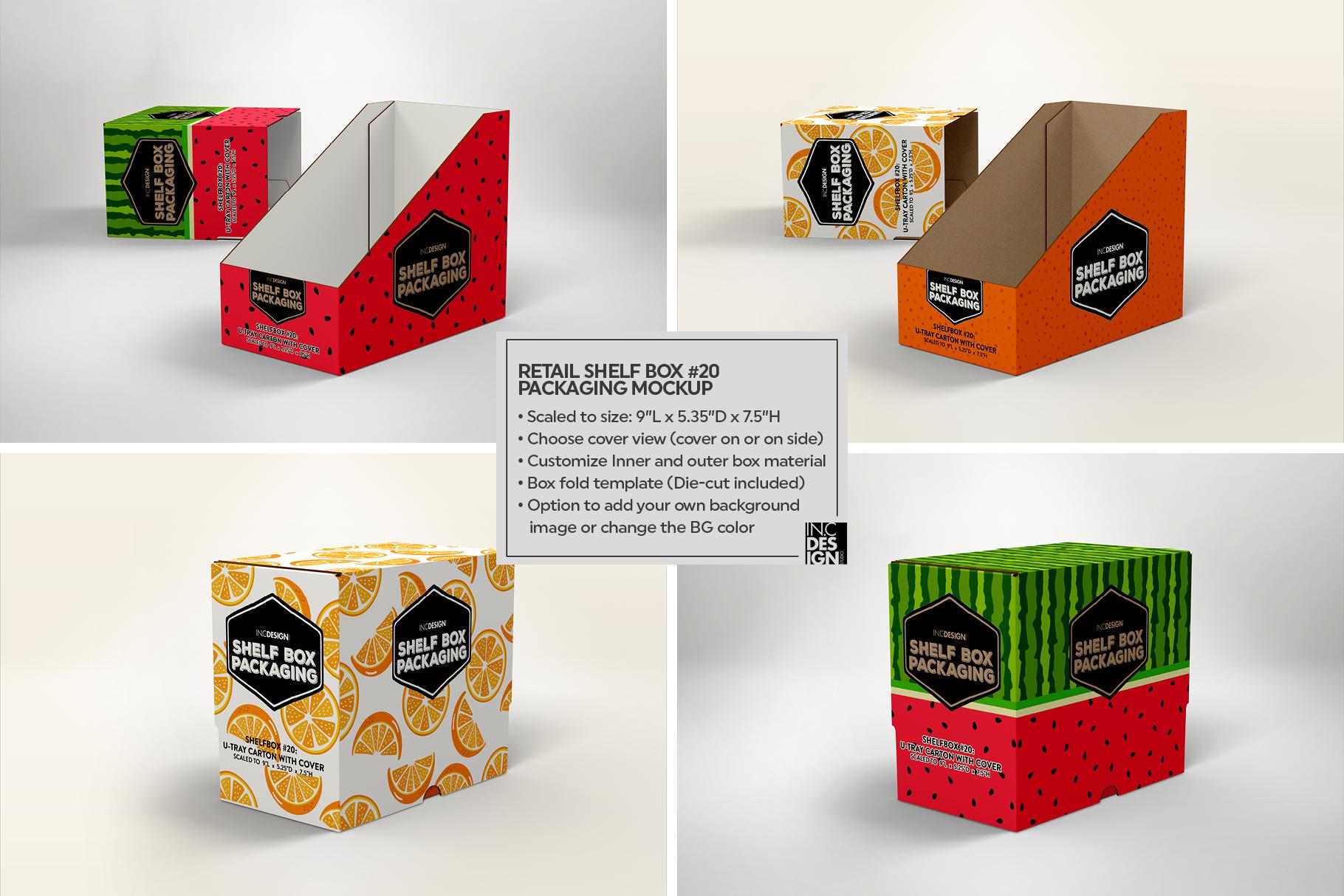 Shelf Box Packaging Volume 4 example image 17