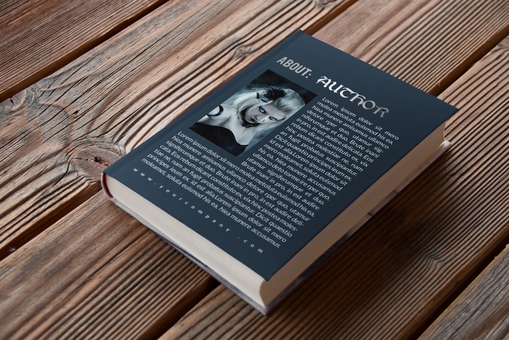 Horror Book Cover Templates example image 3