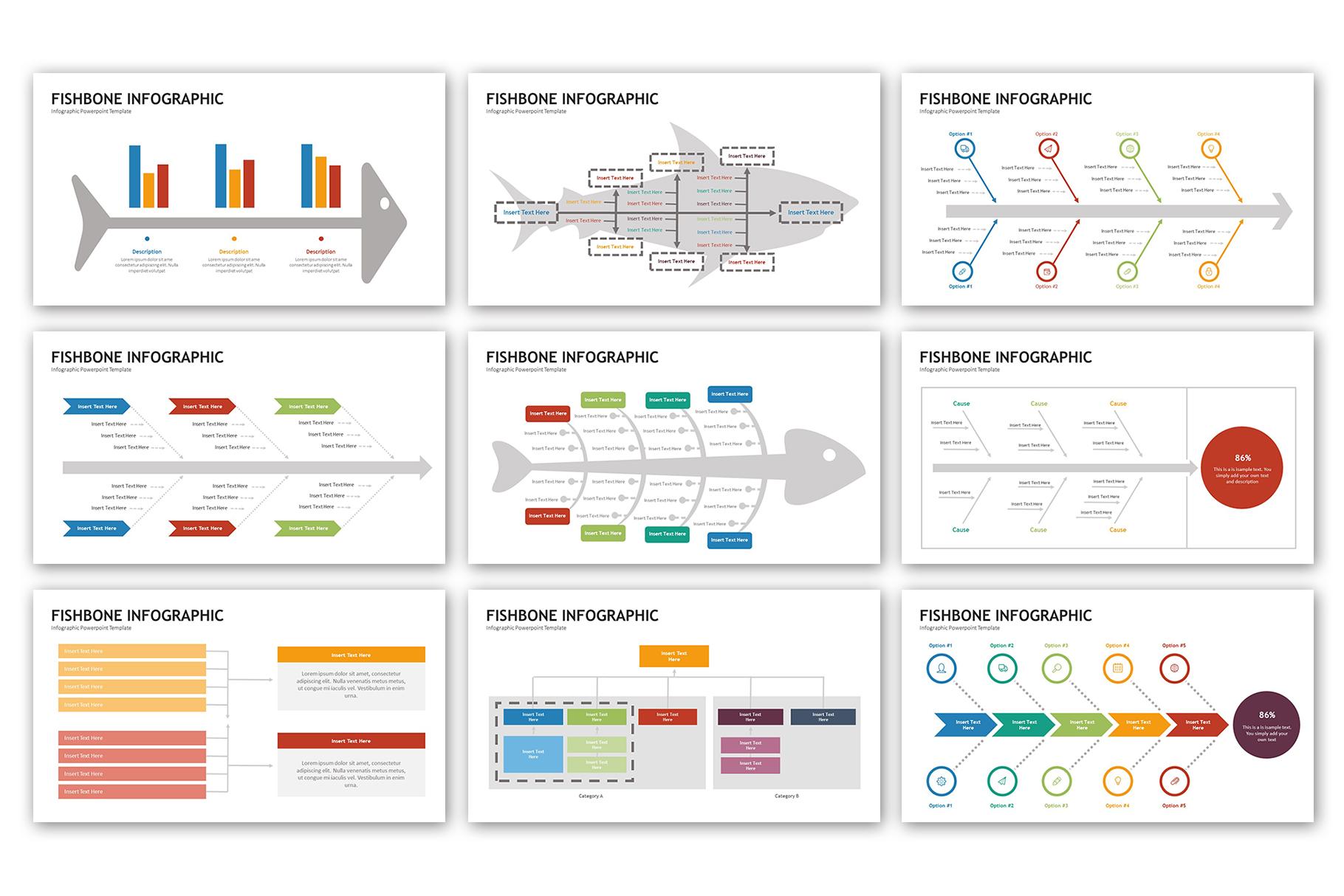 Fishbone Presentation - Infographic Template example image 3
