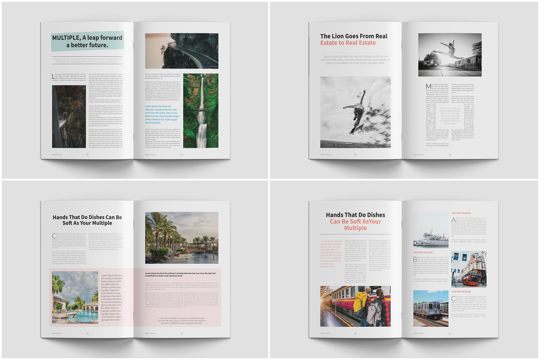 Modern Multipurpose Magazine Layout example image 6