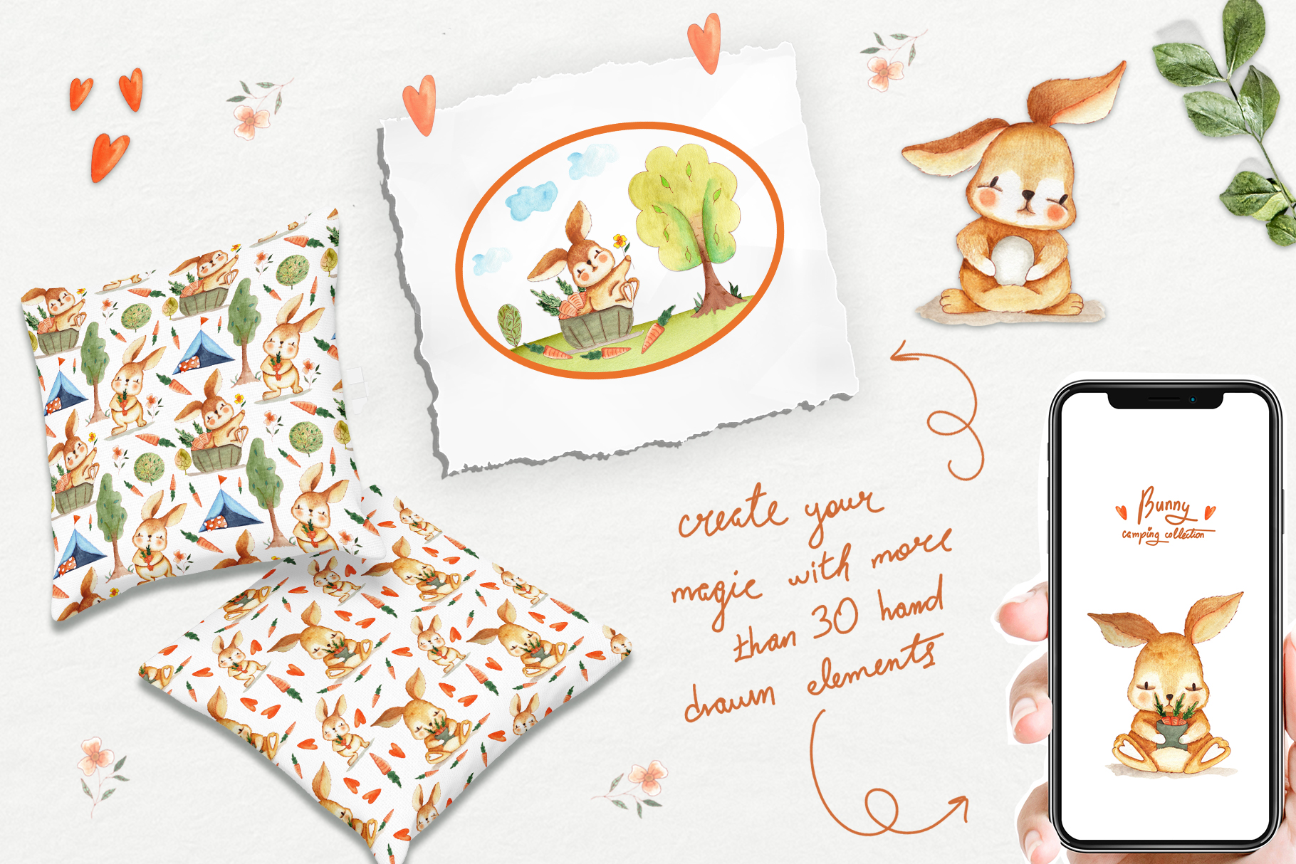 Bunny Camping Collection example image 4