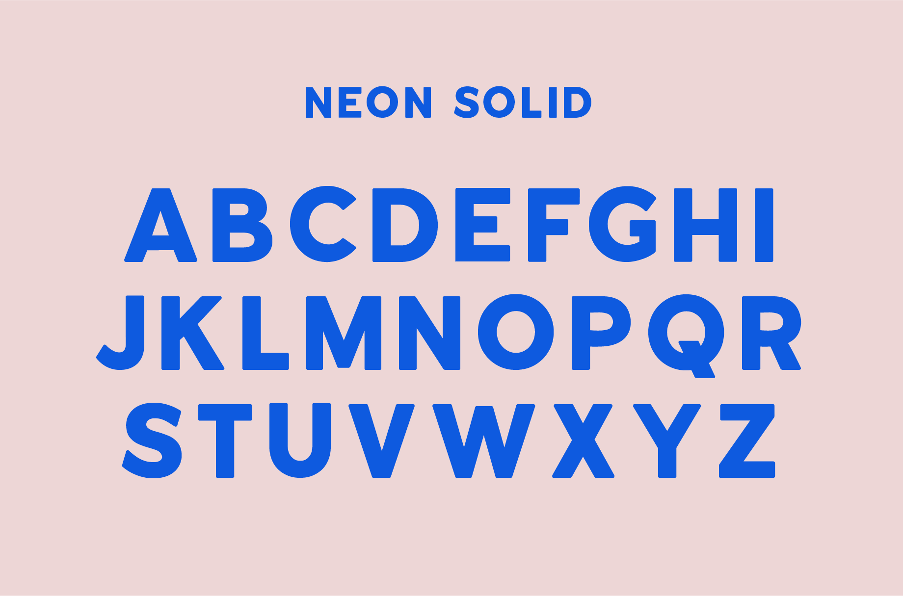 Neon | An Outline Font Bundle example image 9