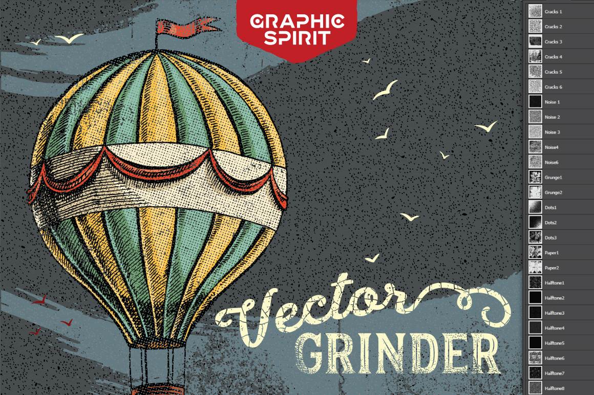 Vector GRINDER Toolkit Actions example image 2