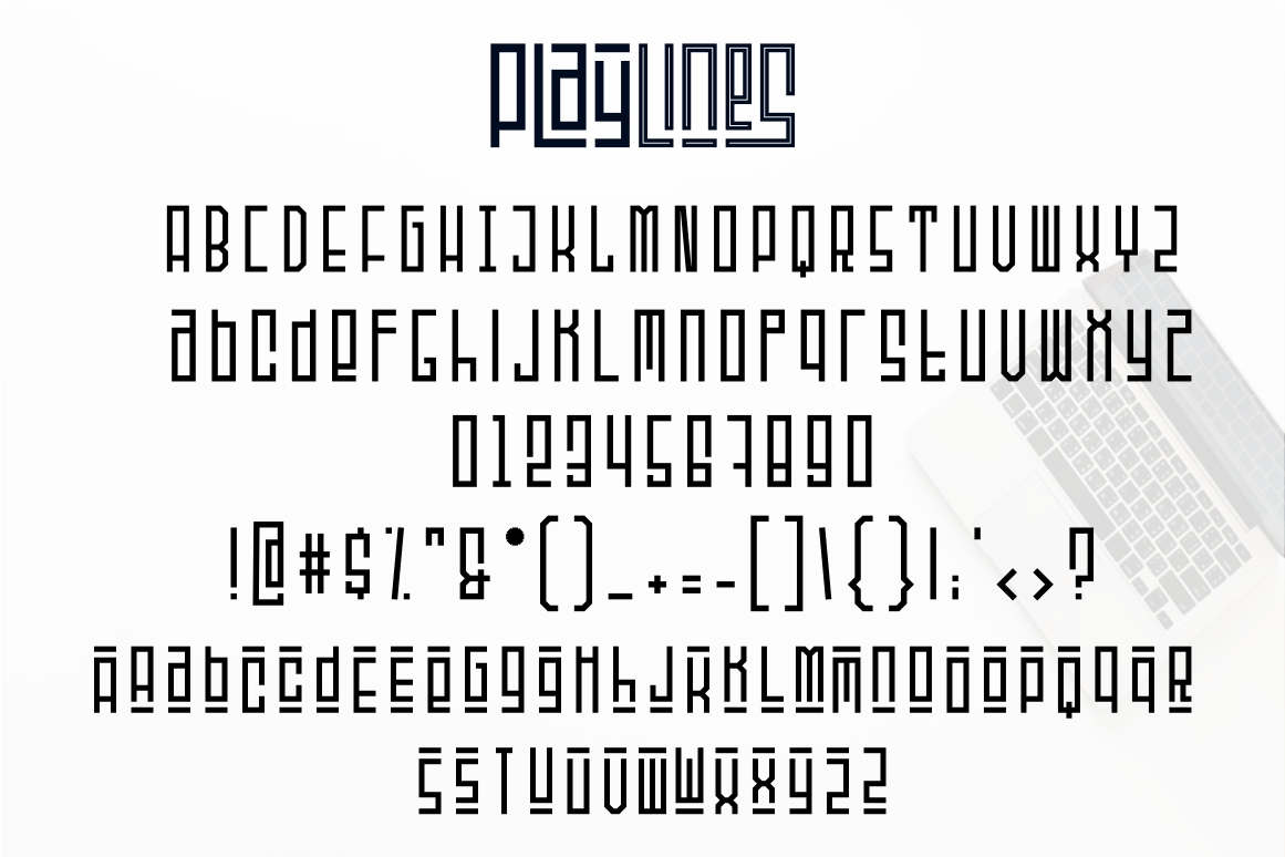 Playlines - Display Typeface example image 8