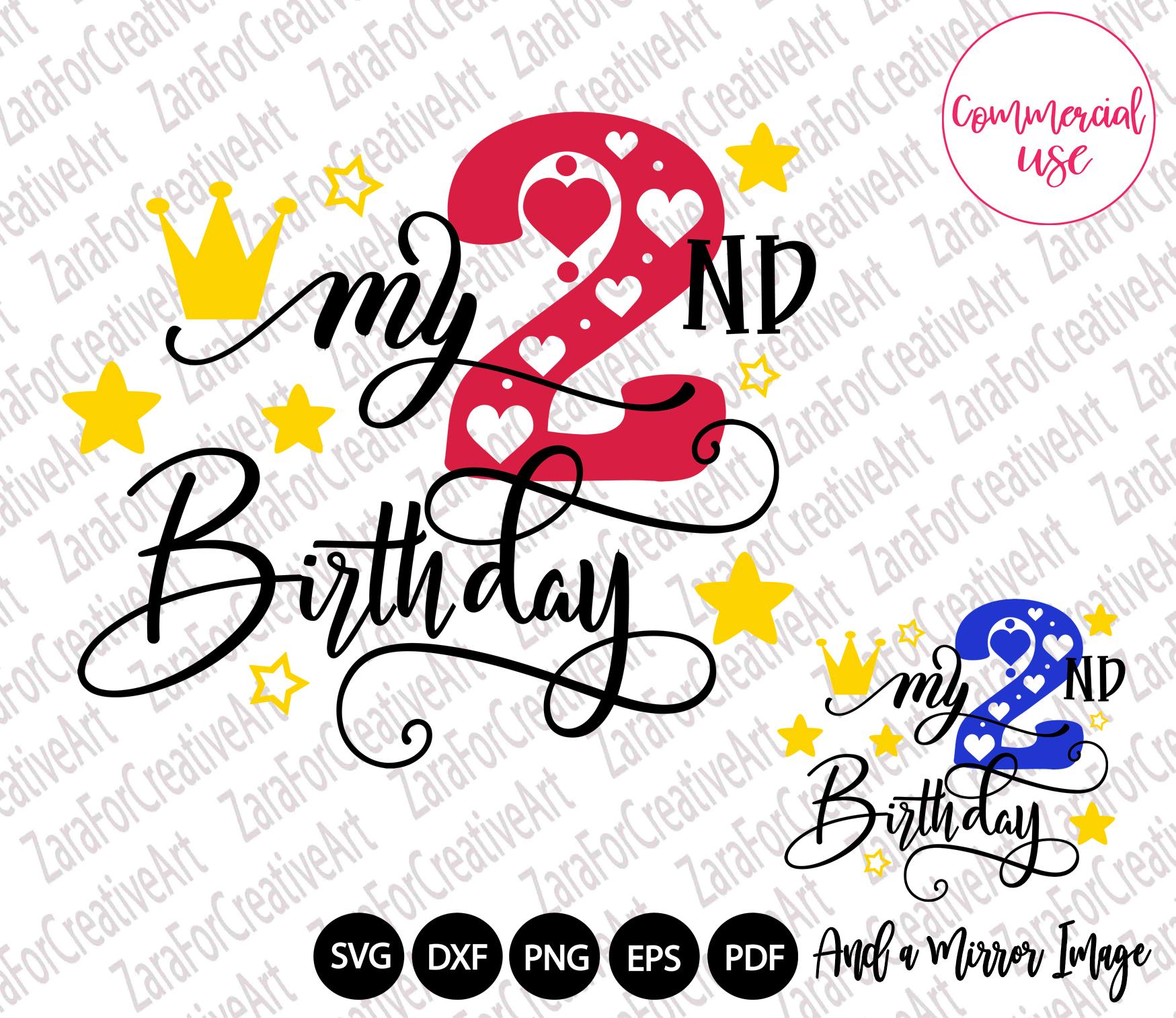 my birthday svg bundle, birthday girl bundle birthday boy , example image 3