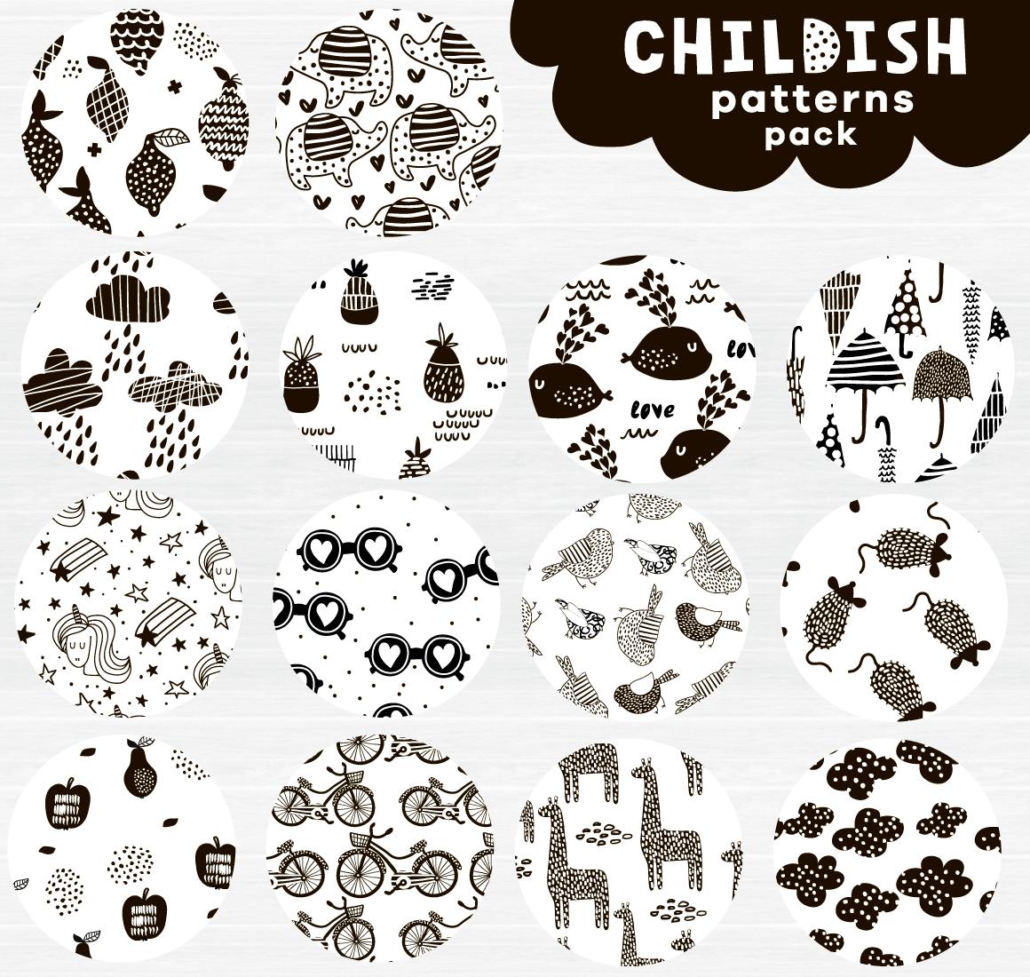 Childish patterns pack example image 4