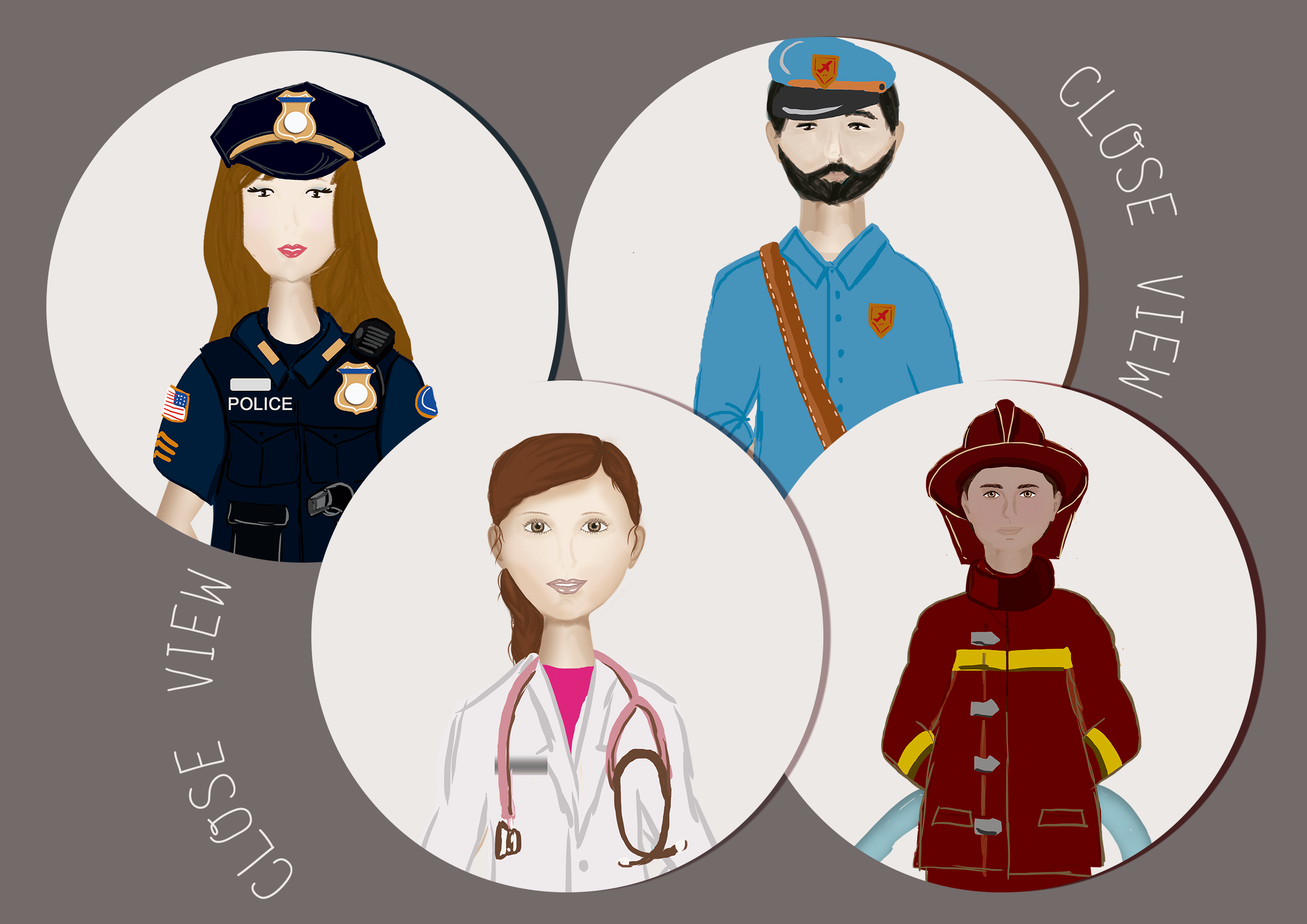 Profession's Characters example image 3