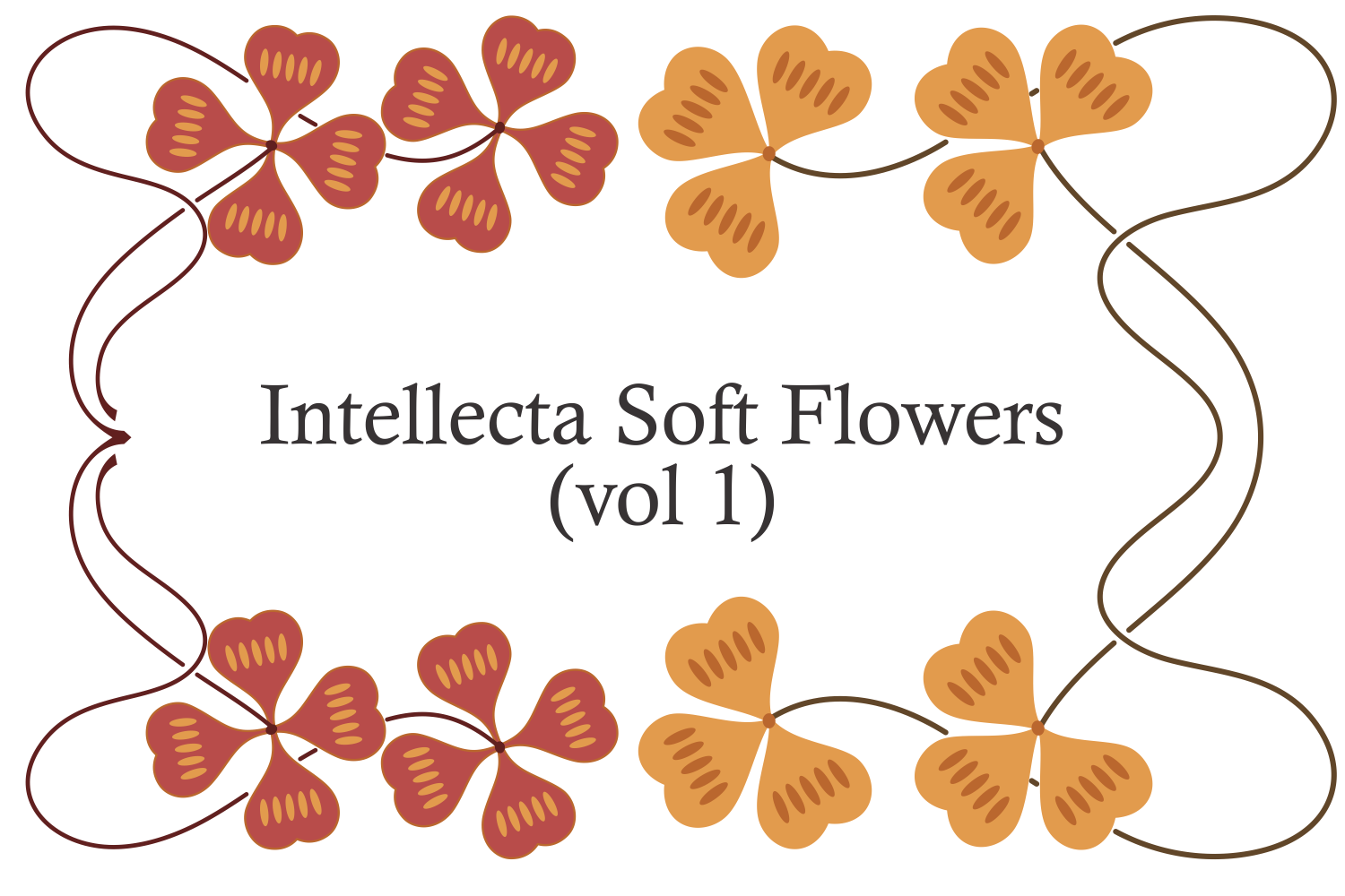 Intellecta Soft Flowers vol 1 example image 4