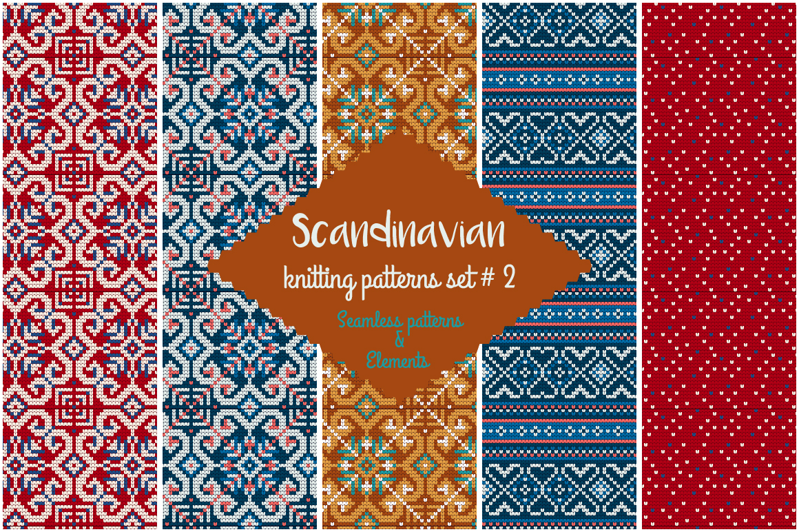30 Scandinavian Knitting Patterns