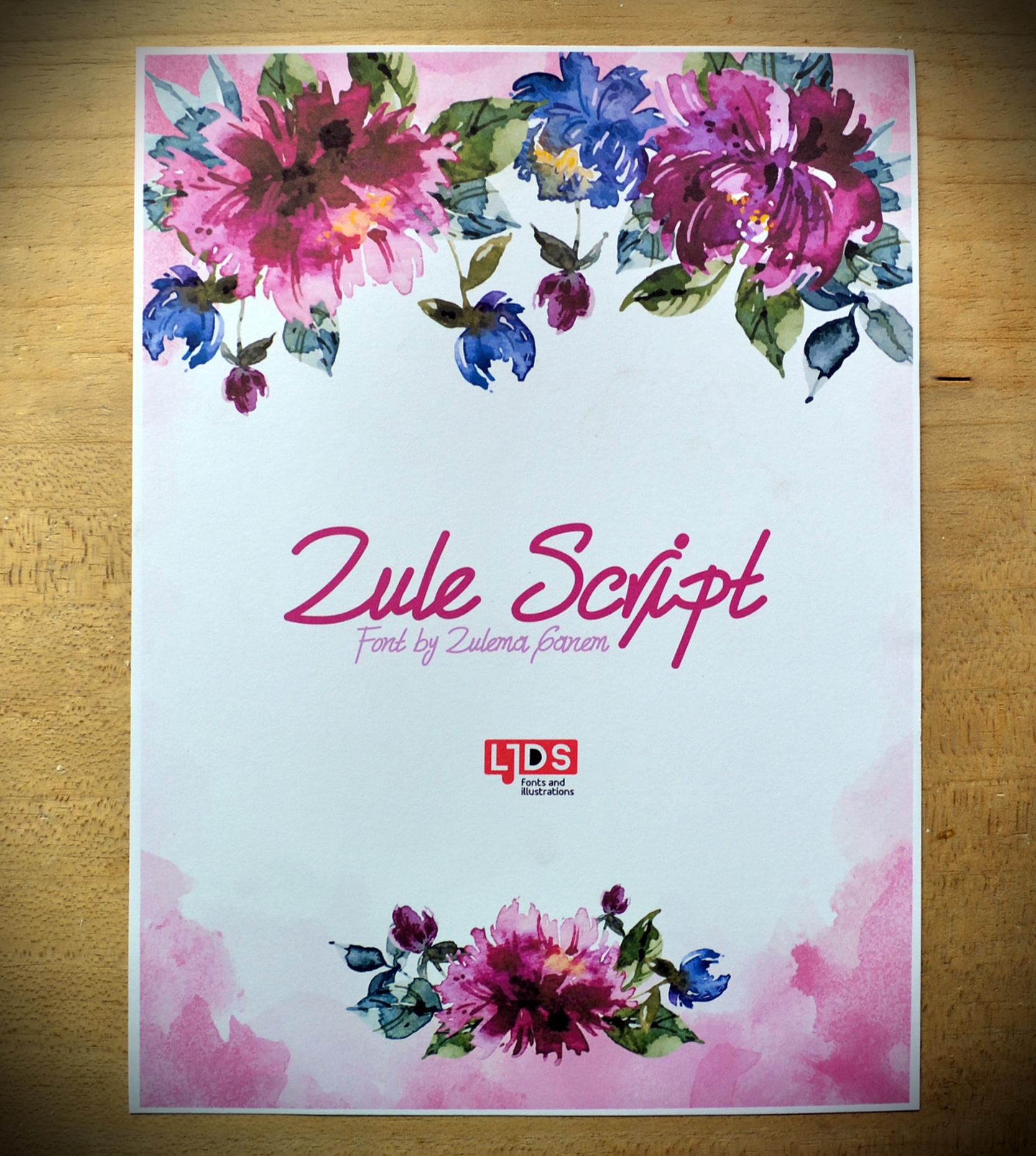 Zule Script example image 7