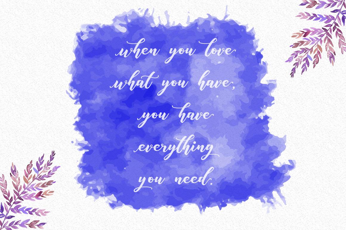 Anisha Script example image 3