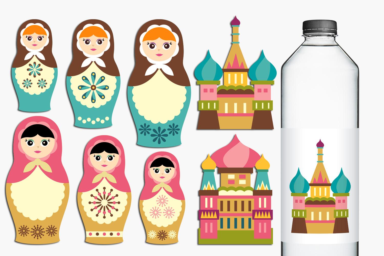 Just For Girls Clip Art Illustrations Huge Bundle example image 10
