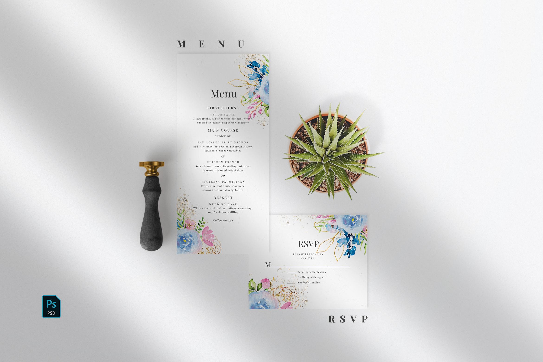 Wedding Invitation Suite - Delicate example image 2