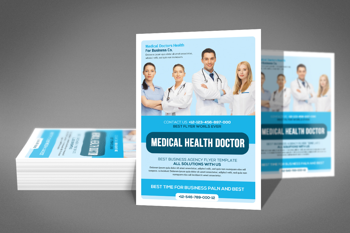 Medical Doctor Flyer example image 2